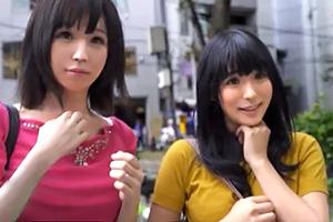 【ママ友ナンパ!】ロケットおっぱいの巨乳妻&アイドル級のロリかわ妻をゲット!
