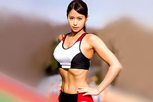 市川沙緒里 100mを12秒64で走りきるアスリート女子大生のカラダ。これは即ハボですわ…