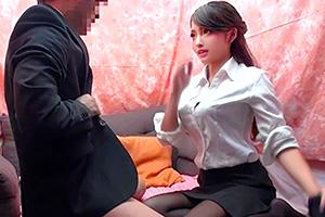 【素人ナンパ】会社の上司と部下のSEX検証で巨乳の先輩が大暴走!