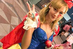 【ナンパTV】「メルシー!」夢の国前でナンパした金髪フランス人(24)とのSEX動画