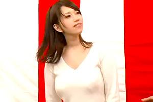 【素人】揺れるおっぱいw 巨乳美女が縄跳び野球拳に挑戦!