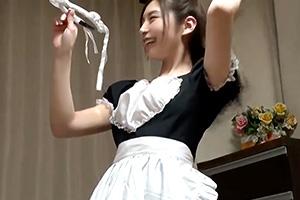 【盗撮】今日のコスデリはメイド服でご奉仕プレイだぜ!