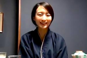 【個人撮影】クールそうに見えて無邪気な笑顔が可愛い人妻と温泉旅行