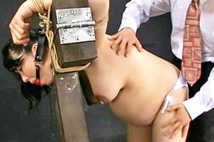 【在佳亜矢】腹ボテ妊婦を緊縛して徹底調教・・・罪悪感ハンパない