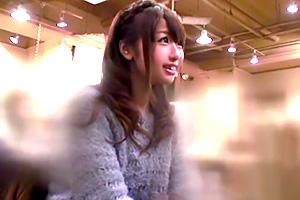 【素人ナンパ】渋谷で見つけたお嬢様系美少女をガチ口説き!