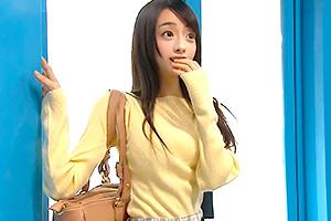 【マジックミラー号】新商品のモニターで連れて込まれた黒髪ロングの素人娘