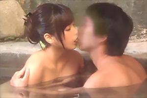 【盗撮】初対面だろうが男女が混浴すると神速で結ばれる!