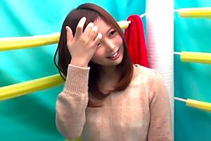 【素人】ナンパ×プロレス 色白で可愛い素人娘に電マ責め!