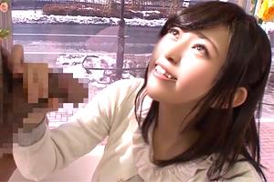 【マジックミラー号】「入らないよ…」ウブな美少女が人生初のデカチン挿入!