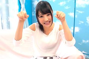 【マジックミラー号】芸能事務所でアイドル活動してる19歳美少女がイキ我慢!