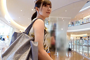 【ナンパTV】某有名ショッピングモールでナンパしたワンピースが可愛い美人お姉さんとのSEX動画