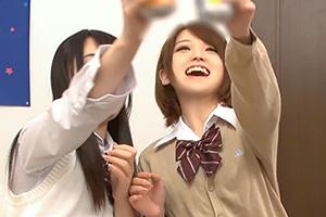 椎名そら 絢森いちか 初めての飲酒で淫乱化した美少女JKと乱行SEX