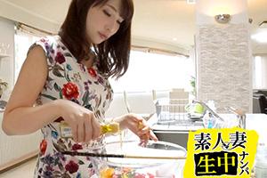 【セレブ妻ナンパ】花柄ワンピが可愛い巨乳美人セレブ妻との中出しSEX動画