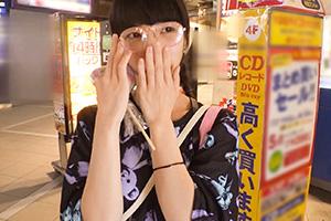【ナンパTV】渋谷センター街でナンパした原宿系メガネ女子(20)とのSEX動画