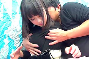 【素人】くびれ巨乳が素晴らしい美少女が悩める男子を全力サポート