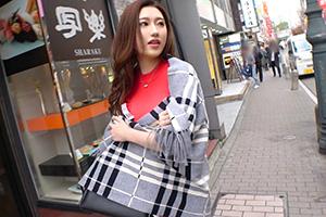 【ナンパTV】赤坂見附でナンパした赤ワンピースがエロい美人お姉さんとのSEX動画