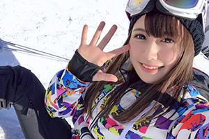 【スキー場ナンパ】雪山で練習中のゲレンデ美女(21)をお持ち帰りしたSEX動画