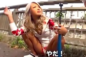 【ギャル】「かったり〜な」ヤンキー娘が撮影で乙女モード