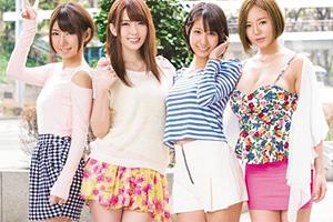 波多野結衣 人気AV女優が素人の乱交サークルに飛び入りしてSEX!