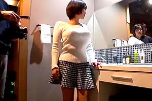 【個人撮影】Hカップ凄い…。巨乳美女と温泉旅行でハメ撮り