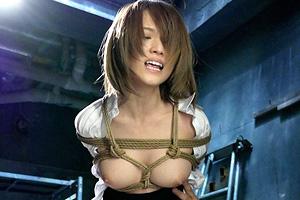 椎名そら 敏腕捜査官を精神崩壊させた緊縛と媚薬中出しセックス!