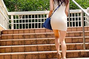 【個人撮影】美脚Tバックがセクシーなワンピース美女をホテルでハメる!