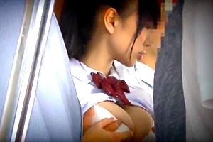 【痴漢】桐谷まつり 田舎から出てきた純真な巨乳JKが都会で洗礼を受ける…