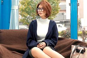 【マジックミラー号】美意識の高いHカップ巨乳セレブ妻を乳首マッサージ!