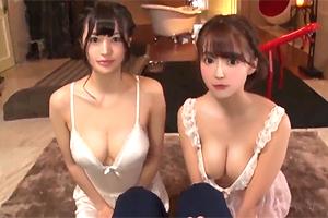 高橋しょう子 三上悠亜 無敵の2大アイドルが高級ソープで二輪車プレイ!