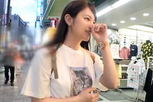 【ナンパTV】初めての浮気で秘部をグショグショに濡らす女子大生とのSEX動画