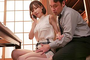 深田えいみ 夫の上司に弱みを握られて犯され続ける人妻…