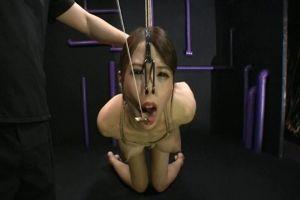 希咲エマ 緊縛鼻フック調教でマゾ覚醒しちゃうドスケベ巨乳ギャル!フェニッシュは号泣顔射!