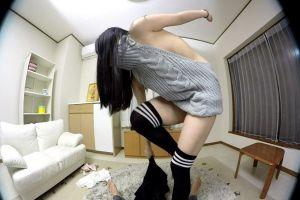 姫川ゆうな 童顔美少女が童貞を殺すセーターに生着替え!ちんぽにまたがり騎乗位挿入で腰振りw