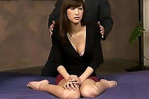神波多一花 催眠術で洗脳プレイ!中出し性奴隷にされてしまった高身長なスレンダーお姉さん