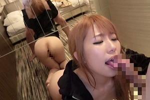 水嶋アリス 美少女ギャルが中出しハメ撮り!お尻もまる見えでフェラご奉仕するヤンキー娘