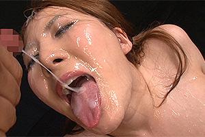 仁科百華 117発ザーメン顔射!初めての大量ぶっかけで悶絶するむっちり爆乳娘