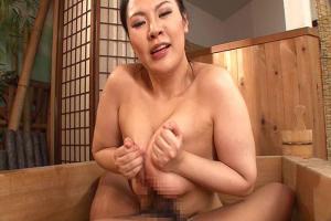 石川しずか 京都弁のムチムチお姉さんが極上おっぱいでご奉仕パイズリ洗体プレイ!