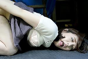 白咲奈々子 美人妻がアナルにバイブ挿れながらフェラ!アナルSEXで絶頂