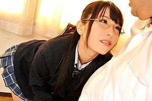 【DIGITAL CHANNEL】有村千佳 眼鏡っ娘JKが男子を誘惑してフェラ抜き!