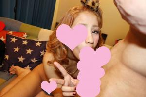 桜アン 沖縄生まれのヤンキーギャルJKがピースしながら3Pフェラチオ撮影!