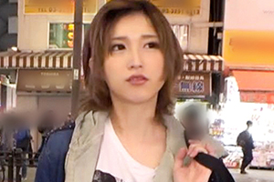 【ナンパTV】男装コスプレ美少女店員が数年ぶりのち◯ぽにビクビク絶頂SEX!