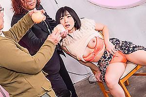 大槻ひびき 美乳スレンダー美女が催眠術で感度あげられ恥ずかしがりながら感じまくる