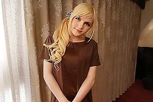 アメリア・イア・ハート ムチムチ美肌の金髪美女がオイルパイズリで濃厚ご奉仕