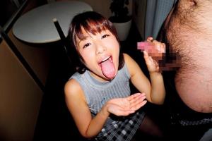 川上奈々美 可愛い顔してしゃぶり尽くすような濃厚フェラして顔射でザーメンまみれの巨乳美少女