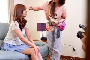 紺野ひかる 巨乳スレンダー美女がクンニとローターでクリトリス刺激され痙攣絶頂