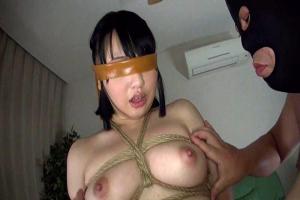 辻井ゆう 巨乳美女が目隠し緊縛拘束してハメ撮り!ドM変態ビッチの淫乱っぷりをご覧ください