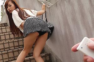 浅倉領花 車の中でも野外でもお構い無しにおっぱいもオマンコも虐められちゃう巨乳美少女