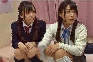 宮沢ゆかり 前園ゆり 義理の妹とその友達と合コン練習ポッキーゲームでキスしちゃう