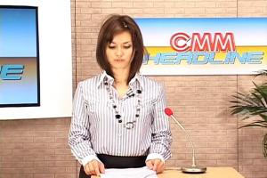小澤マリア 女子アナウンサーの綺麗なお顔にザーメンをぶっかける!立ちバックでガン突き