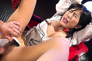 ひばり乃愛 美脚スレンダー美女を拘束パンスト破りピストンマシンで連続痙攣潮吹き絶頂